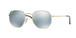 Ray-Ban RB 3548 N HEXAGONAL 001/30  GOLD grey flash