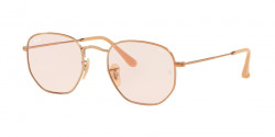 Ray-Ban RB 3548 N HEXAGONAL 91310X  COPPER  evolve light pink