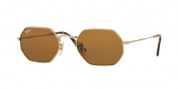 Ray-Ban RB 3556 N OCTAGONAL 001/33  GOLD  brown