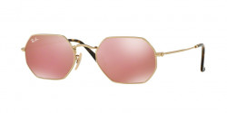Ray-Ban RB 3556 N OCTAGONAL 001/Z2  GOLD copper flash