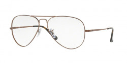 Ray-Ban RB 6489 AVIATOR 2531  LIGHT BROWN