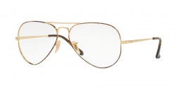 Ray-Ban RB 6489 AVIATOR 2945  GOLD TOP ON HAVANA
