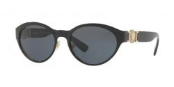 Versace VE 2179 129187  BLACK/PALE GOLD  grey