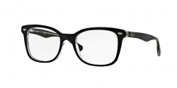 Ray-Ban RB 5285 2034  TOP BLACK ON TRANSPARENT