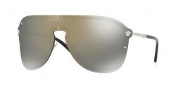 Versace VE 2180 10005A  SILVER  dark grey mirror gold