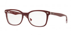Ray-Ban RB 5285 5738  TOP BORDEAUX ON TRASPARENT
