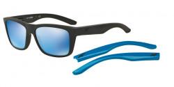 Arnette AN 4217 SYNDROME 01/55  MATTE BLACK mirror blue