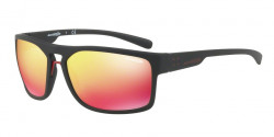 Arnette AN 4239 BRAPP 01/6Q  MATTE BLACK  red multilayer