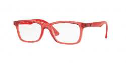 Ray-Ban Junior RY 1562 3687  TRASPARENT RED