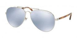 Ralph Lauren RL 7058 90016J  SILVER blue mirror white