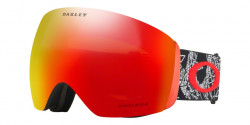 Gogle OAKLEY OO 7050 FLIGHT DECK 705057  SETH SIG CRANEOS MUERTOS RED  prizm torch iridium