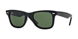 Ray-Ban RB 2140 WAYFARER 901  BLACK crystal green
