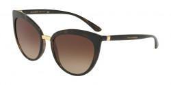 Dolce&Gabbana DG 6113 501/8G  BLACK grey gradient