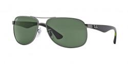 Ray-Ban RB 3502 029  MATTE GUNMETAL green