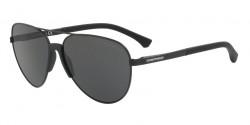 Emporio Armani EA 2059 320387  MATTE BLACK grey