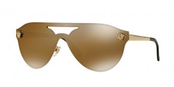 Versace VE 2161 1002F9  GOLD  brown mirror gold