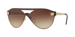 Versace VE 2161 125213  PALE GOLD brown gradient
