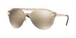 Versace VE 2161 B 12525A  PALE GOLD light brown mirror dark gold