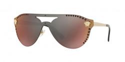 Versace VE 2161 B 1252W6  PALE GOLD dark grey mirror red