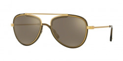 Versace VE 2193 14285A  TRIBUTE GOLD/TRANSP DARK GREEN light brown mirror gold