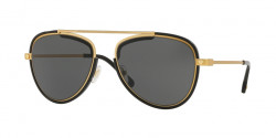 Versace VE 2193 142887  TRIBUTE GOLD/BLACK grey