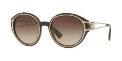 Versace VE 4342 108/13  HAVANA/PALE GOLD brown gradient