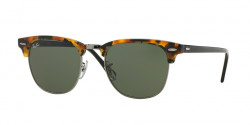 Ray-Ban RB 3016 CLUBMASTER  1157  SPOTTED BLACK HAVANA green