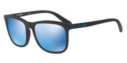 Arnette AN 4240 CHENGA 01/55      MATTE BLACK blue mirror blue