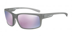 Arnette AN 4242 FASTBALL 2.0 24235R  MATTE TRANSPARENT GREY dark grey mirror pink