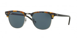 Ray-Ban RB 3016 CLUBMASTER  1158R5  SPOTTED BLUE HAVANA grey
