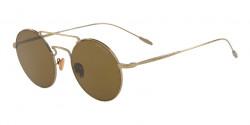 Giorgio Armani AR 6072 319873  BRUSHED GOLD brown