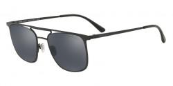 Giorgio Armani AR 6076 30016G  MATTE BLACK light grey mirror black