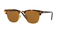 Ray-Ban RB 3016 CLUBMASTER  1160  SPOTTED BROWN HAVANA brown