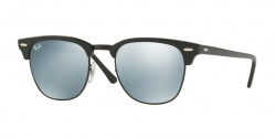Ray-Ban RB 3016 CLUBMASTER  122930  BLACK  light green mirror silver