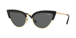 Vogue VO 5212 S W44/87  BLACK/GOLD grey