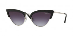 Vogue VO 5212 S W44/36  BLACK/SILVER  pink gradient light violet