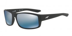 Arnette AN 4224 BOXCAR 01/22  MATTE BLACK  polar dark grey mirror water
