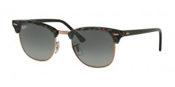 Ray-Ban RB 3016 CLUBMASTER  125571  SPOTTED GREY/GREEN grey gradient dark