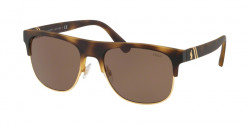 Polo Ralph Lauren PH 4132 518273  MATTE DARK HAVANA brown
