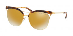 Ralph Lauren RL 7061 93537P  GOLD HAVANA/SANDED GOLD brown mirror gold