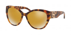 Ralph Lauren RL 8168 56157P  GOLD HAVANA brown mirror gold