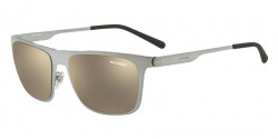 Arnette AN 3076 BACK SIDE 502/5A  BRUSHED GUNMETAL light brown mirror dark gold