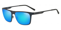Arnette AN 3076 BACK SIDE 703/25  DARK BLUE green mirror light blue
