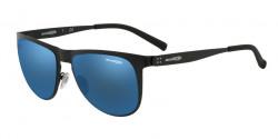 Arnette AN 3077 JONESER 501/55  MATTE BLACK blue mirror blue
