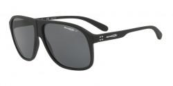 Arnette AN 4243 50-50 GRAND 447/81  BLACK RUBBER polar grey