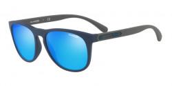 Arnette AN 4245 HARDFLIP 252725  MATTE BLUE  green mirror light blue