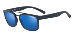 Arnette AN 4248 BALLER 215355  BLUE RUBBER blue mirror blue
