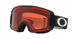 Oakley OO 7095 LINE MINER YOUTH 709504  MATTE BLACK  kolor soczewek: prizm snow rose