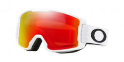 Oakley OO 7095 LINE MINER YOUTH 709508  MATTE WHITE  kolor soczewek: prizm snow torch iridium