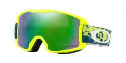 Oakley OO 7095 LINE MINER YOUTH 709513  ARCTIC FRACTURE RETINA  kolor soczewek: prizm snow jade iridium
